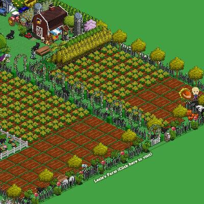 Farmville back to normal... Where did the message go?