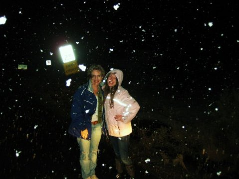 snowing in sedona
