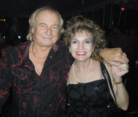 Belle with Alan White from YES!