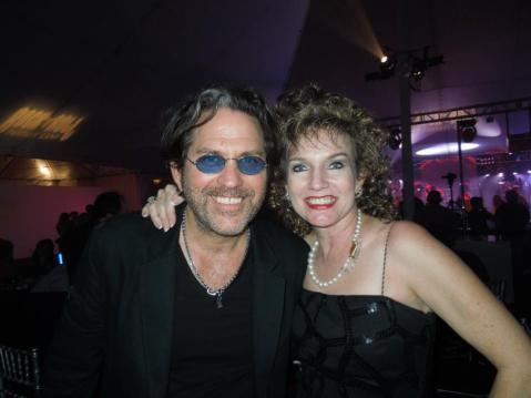 Belle Karper with Kip Winger of Winger (So freaking hot on stage!)